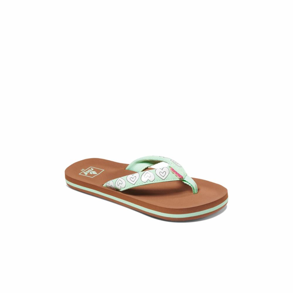 Reef Kids KIDS AHI COLOR CHANGE MINT HEARTS