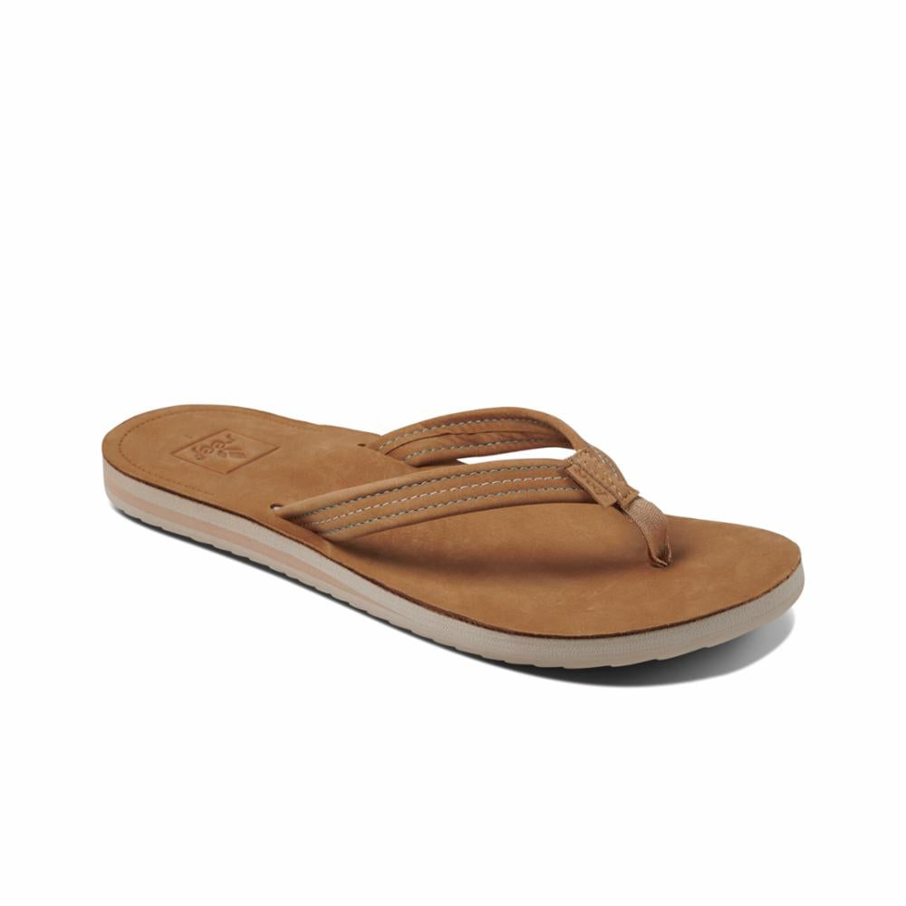 Reef Women REEF VOYAGE LITE LEATHER TOBACCO