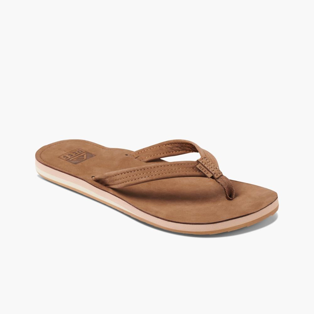 Reef Women REEF VOYAGE LITE LEATHER CHOCOLATE