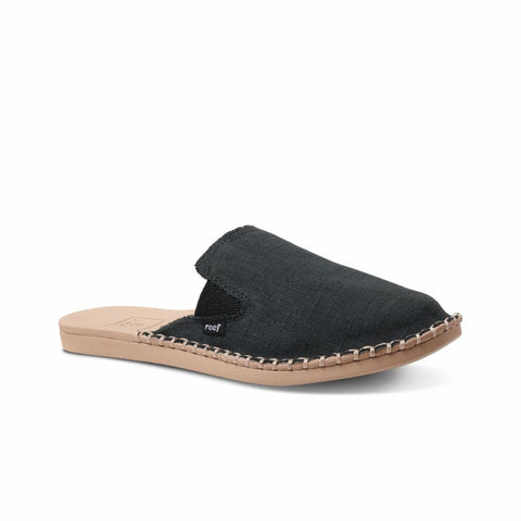 Reef Women REEF ESCAPE MULE BLACK/TAN