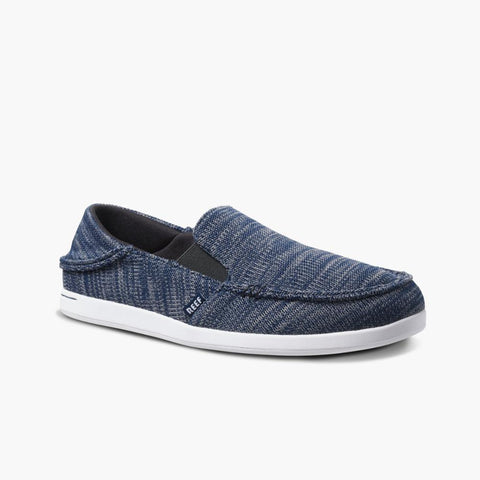 Reef Men CUSHION MATEY KNIT NAVY/WHITE