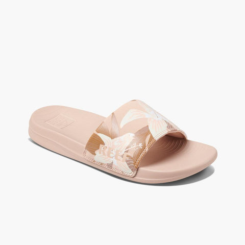 Reef Women REEF ONE SLIDE SAND HIBISCUS