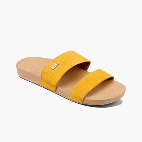 Reef Women CUSHION VISTA SUEDE MUSTARD