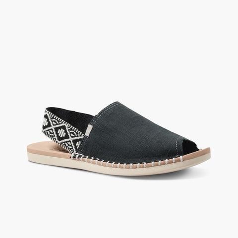 Reef Women REEF ESCAPE SLING WOVEN BLACK/CREAM