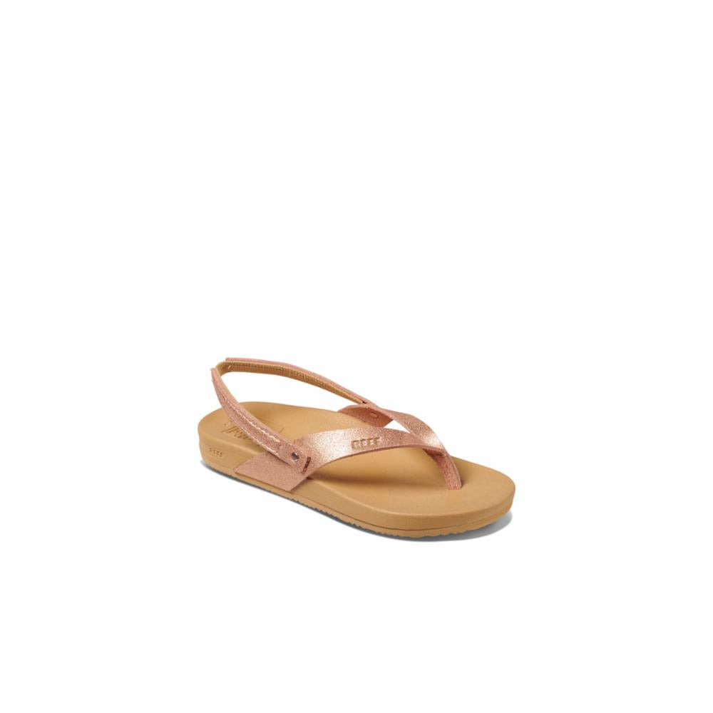 Reef Kids LIL CUSHION COURT ROSE GOLD