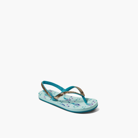 Reef Kids LITTLE STARGAZER PRINTS AQUA MERMAIDS