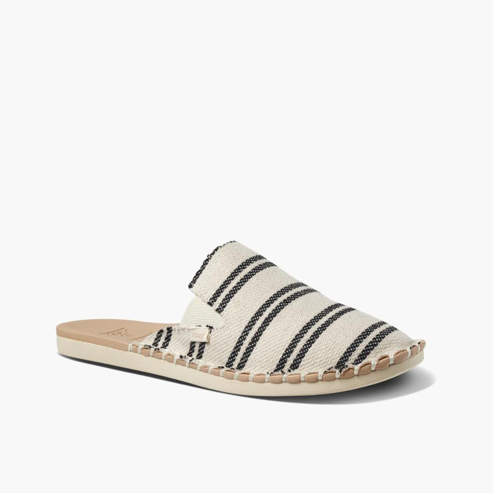 Reef Women REEF ESCAPE MULE BLACK STRIPES