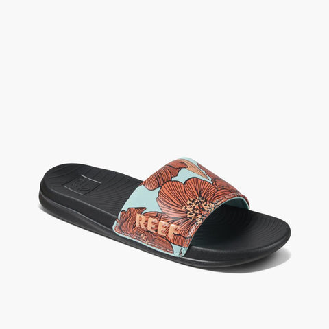 Reef Women REEF ONE SLIDE AQUA BLOSSOM