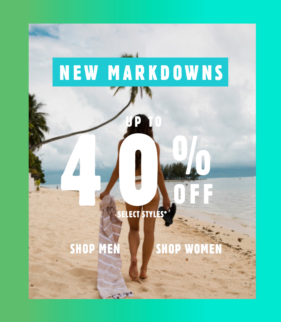 New Markdowns - Up to 40% Off