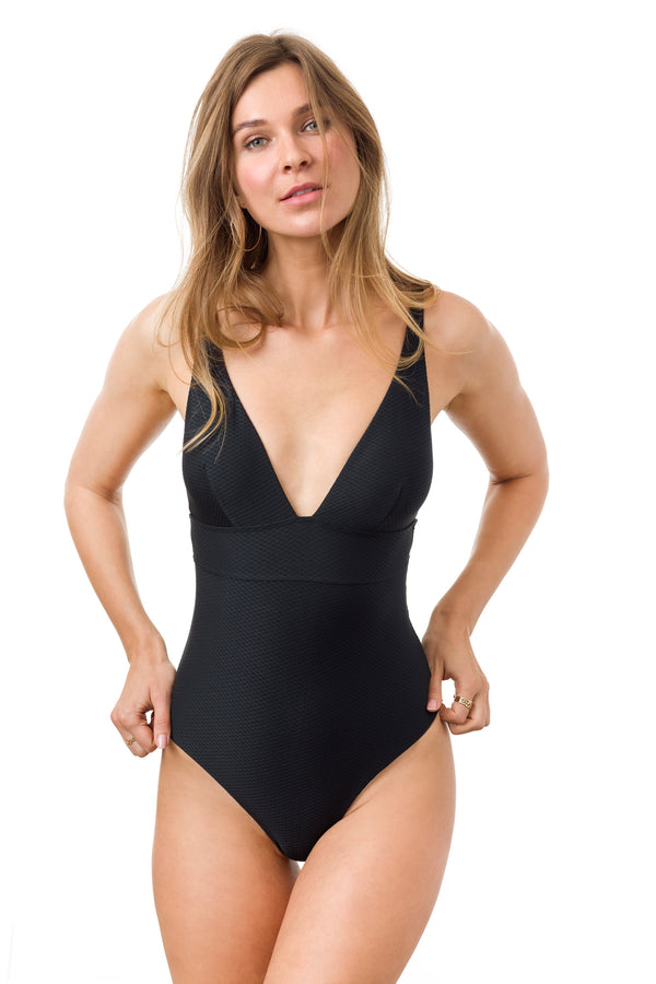 Honeycomb Louise One-piece