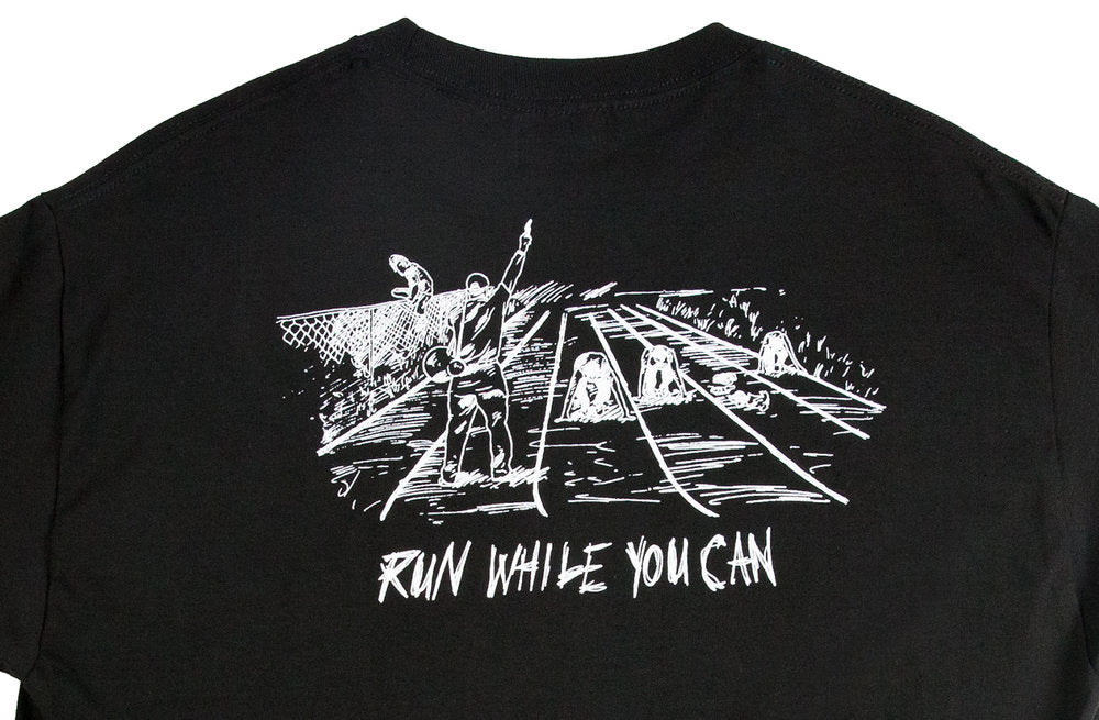 Run While You Can T-Shirt - Black