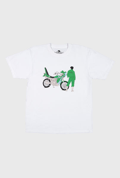 Speed Tribe Graphic T-Shirt - White
