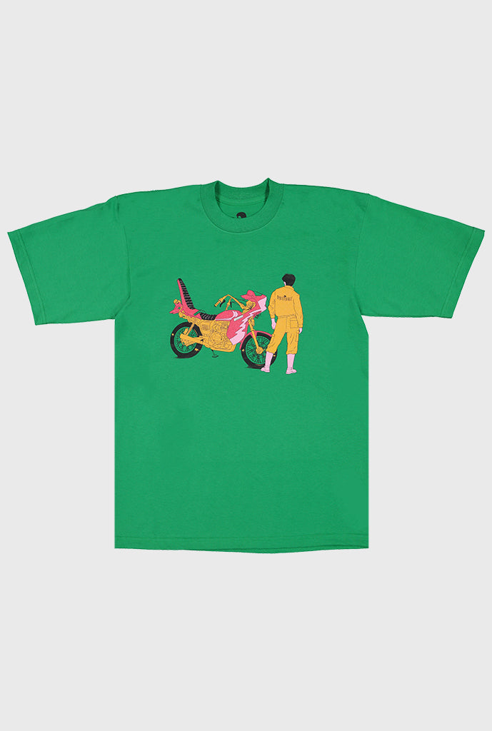 Speed Tribe Graphic T-Shirt - Green
