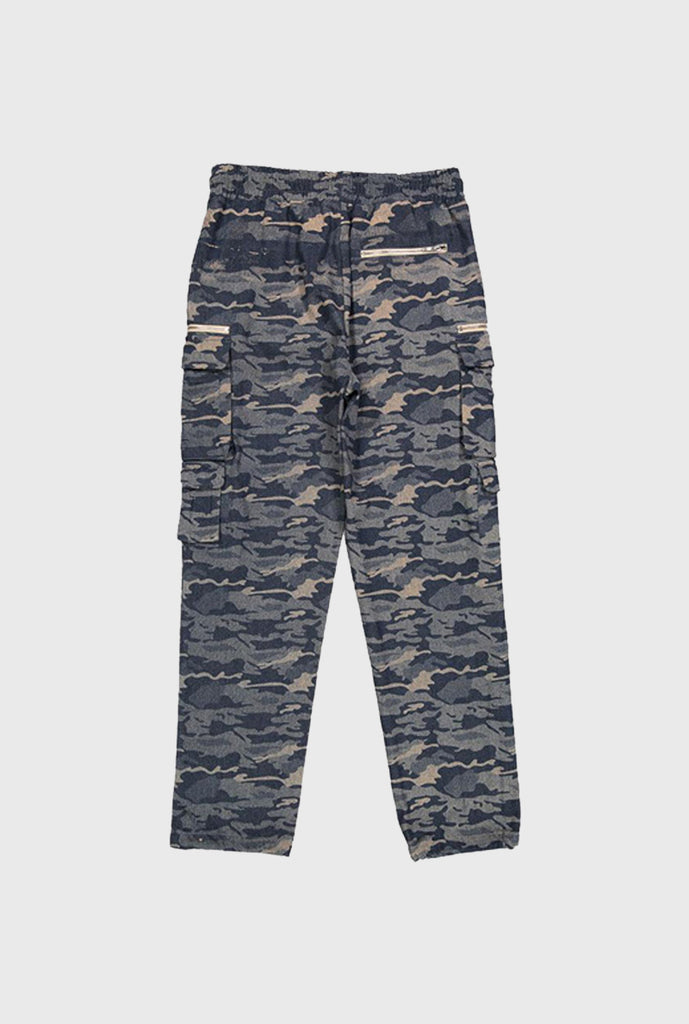 Twill Bungee Cargo Pant - Camo