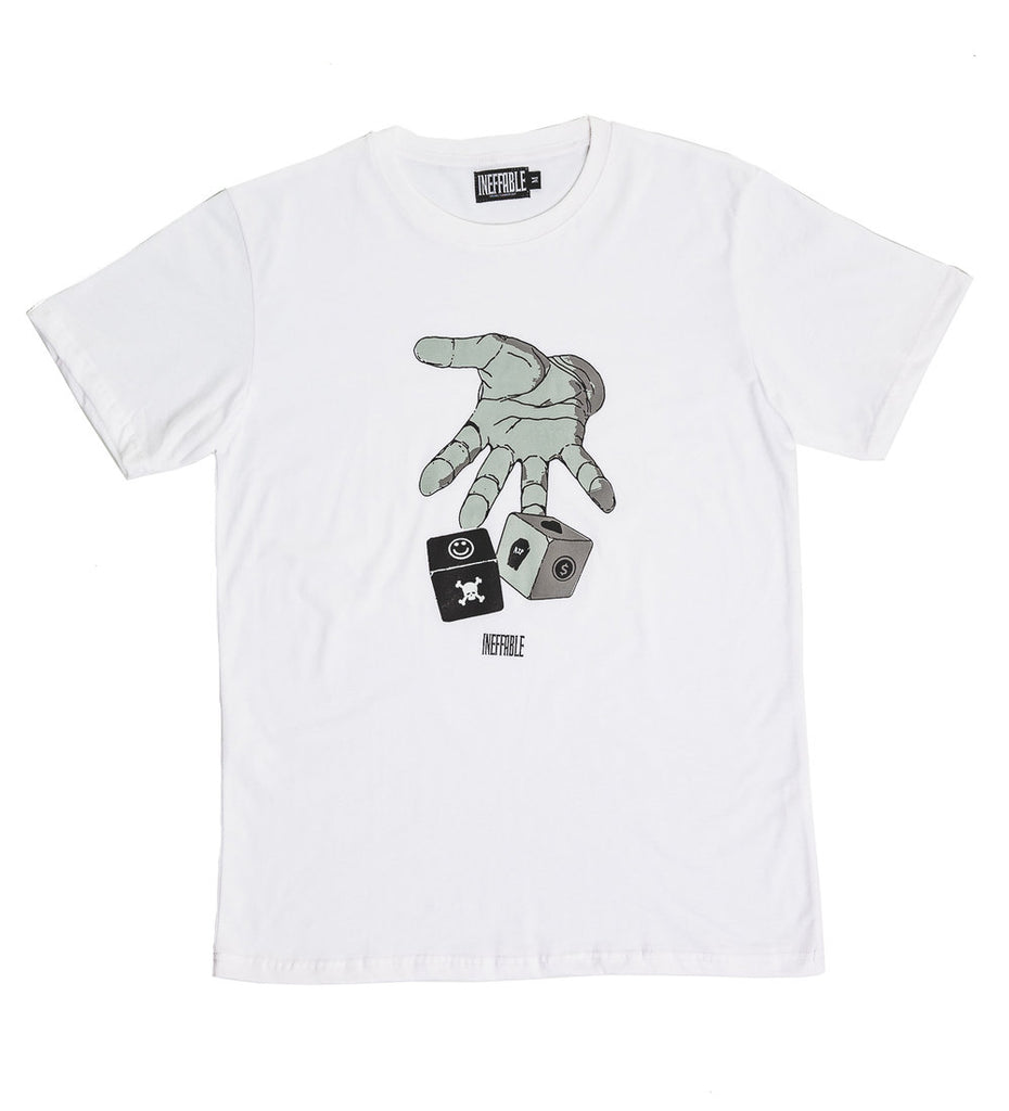 Roll The Dice T-Shirt - White
