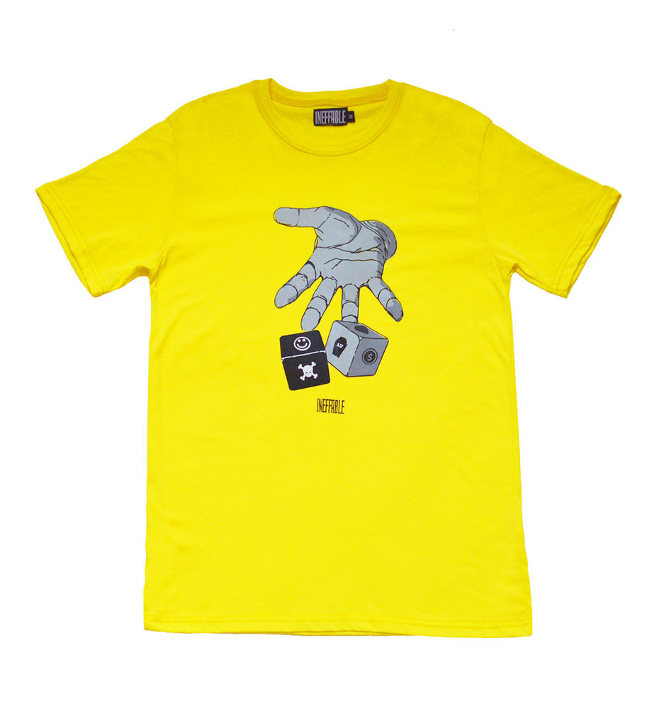 Roll The Dice T-Shirt - Yellow