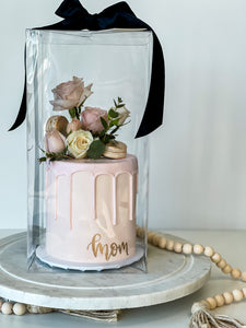 Mom Cake in Clear Gift Box