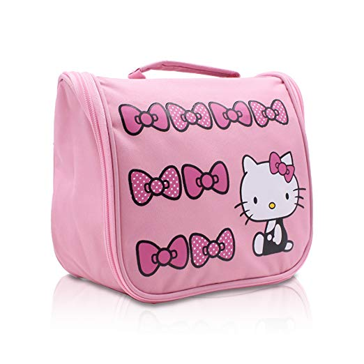 b9974509d9 Hello Kitty Make up Organizer Bag with Hanging Hook Cosmetic ...