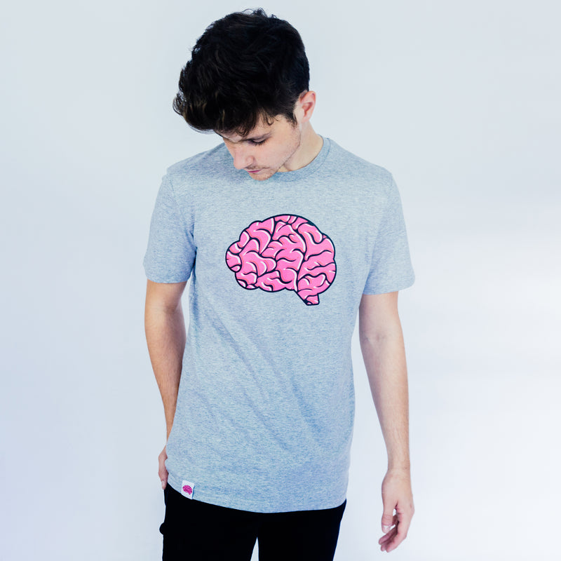 Brain logo short-sleeved T.