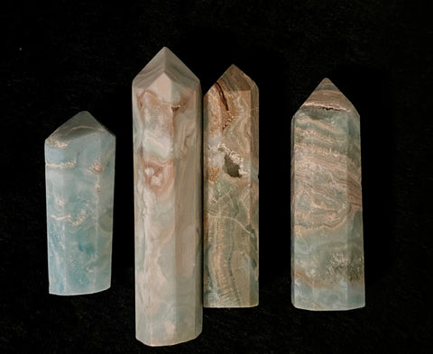 Blue Aragonite Point