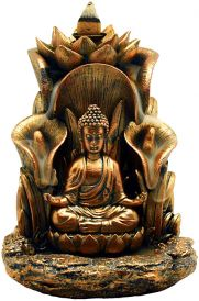 Backflow Cone Burner: Golden Buddha