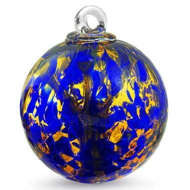 Spirit Tree Ball - 4 inch - Cobalt Blue