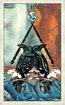 Crow Tarot Card Deck - Tarot On Winter