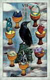 Crow Tarot Card Deck- Tarot On Winter