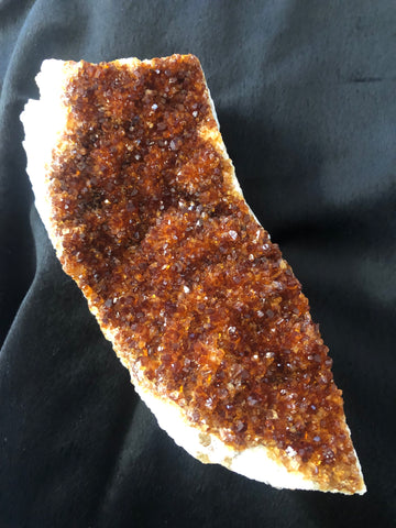 Citrine Specimen - Dark Golden Yellow