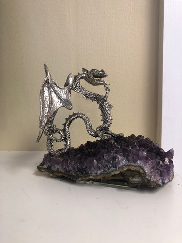 Frost Dragon on Amethyst Base