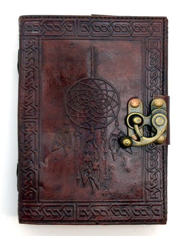 Dream Catcher Leather Embossed Journal