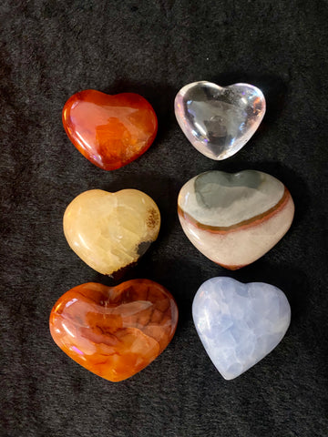 Miscellaneous Gemstone Hearts