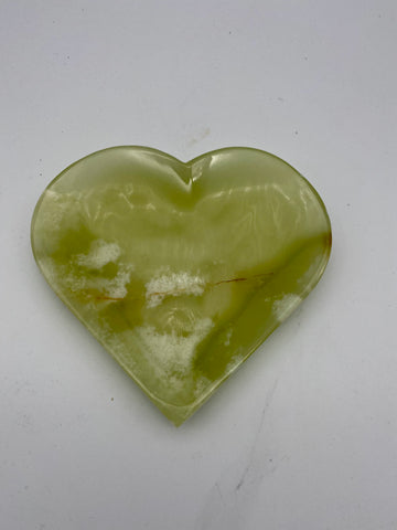 Mexican Onyx Heart Moon Bowl