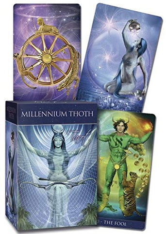 Millennium Thoth Tarot - Tarot On Winter