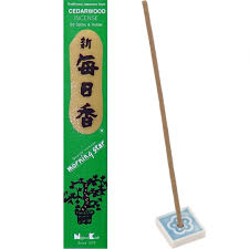 Morning Star Cedarwood Incense - 50 sticks