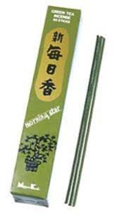Morning Star Green Tea Incense - 50 sticks
