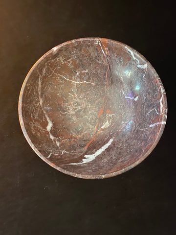 Red Zebra Jasper Offering Bowl