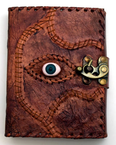 Sacred Eye Leather Embossed Journal