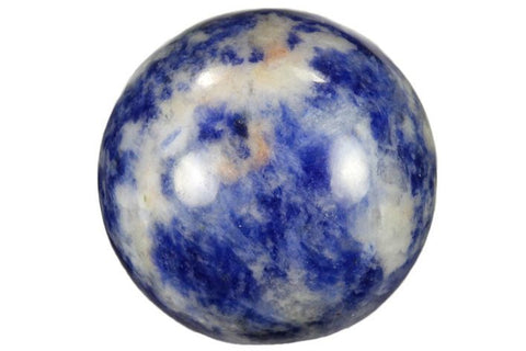 Sodalite Sphere with Stand