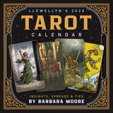 Llewellyn's 2020 Tarot Calendar: Insights, Spreads & Tips