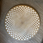TORUS YANTRA CRYSTAL GRID #2 - HYPNOTIC EYE