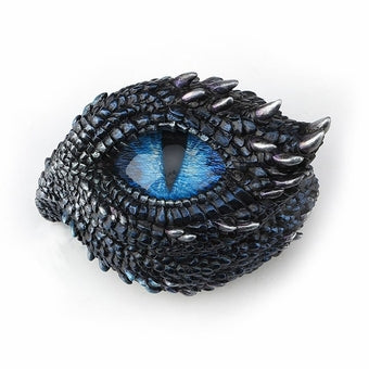 Thorny Scale Dragon Eye Trinket Box