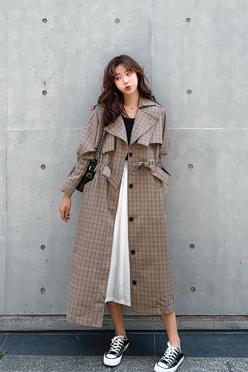 Autumn Fashion Loose Easy Matching Vintage Windbreaker
