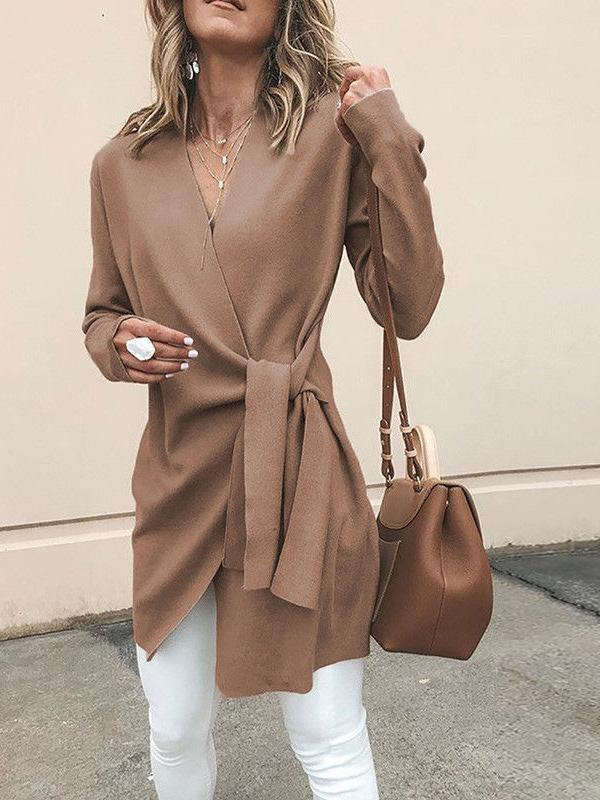Long Sleeves 4 Colors Coat Outwear