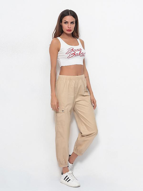 Fashion Cargo Jogger Pants