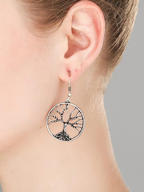 Wisdom Tree Earrings Accessories