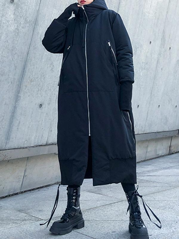 Winter Fashion Loose Plus Size Cotton Coat