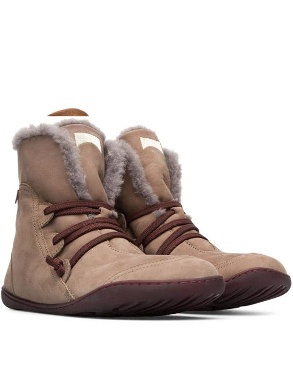 Women's Boots with Plush Warm Large Non Slip Outdoor Snow
