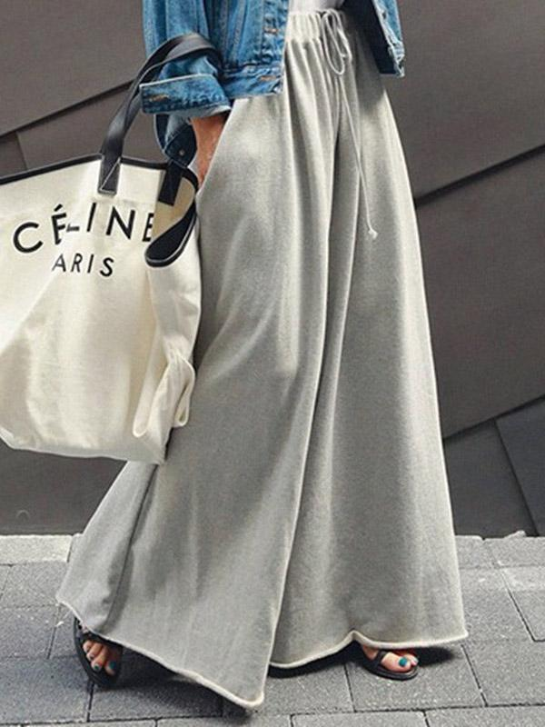 Leggings Fashion Casual Wide Leg Pants