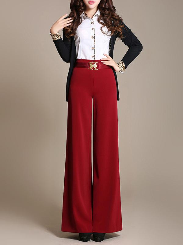 Winter New Loose High-waist Wide-leg Pants